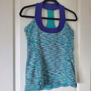 LULULEMON Wee are from Space Scoop Neck Size 10